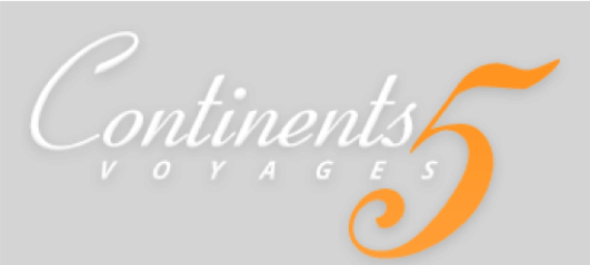 Logo continents 5 fond